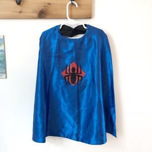 Halloween Superhero Spider-Man/Batman Cape